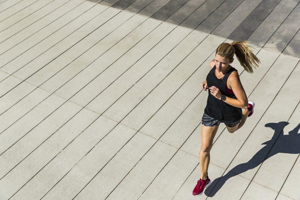courir en ville